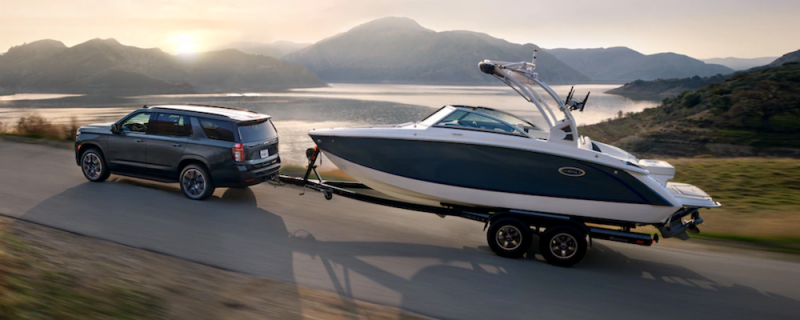 best cars for towing a trailer chevy tahoe