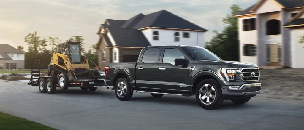 best cars for towing a trailer Ford F-150