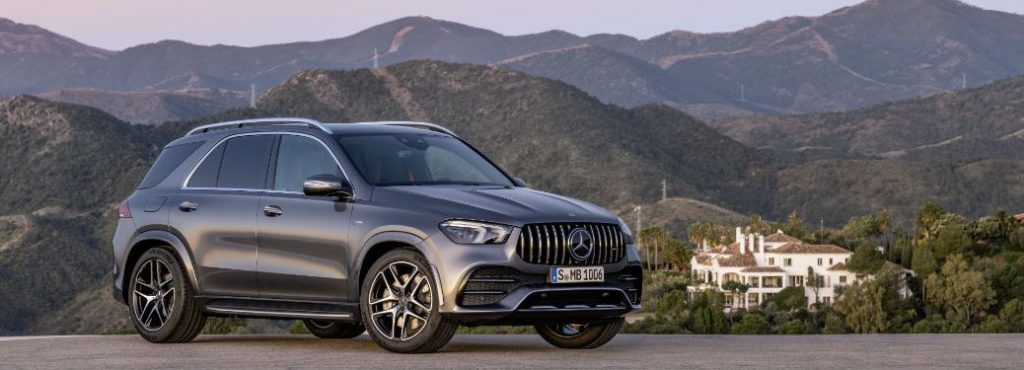 best cars for towing a trailer Mercedes-Benz GLE