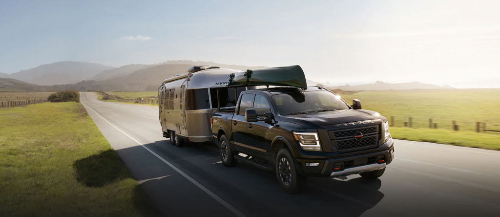 best cars for towing a trailer nissan titan