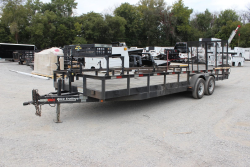 2007 RICE TRAILERS BE205-24X82 - #US35912